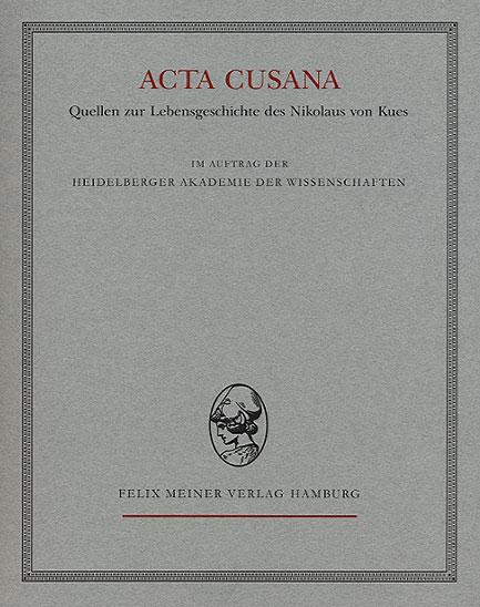 Acta Cover