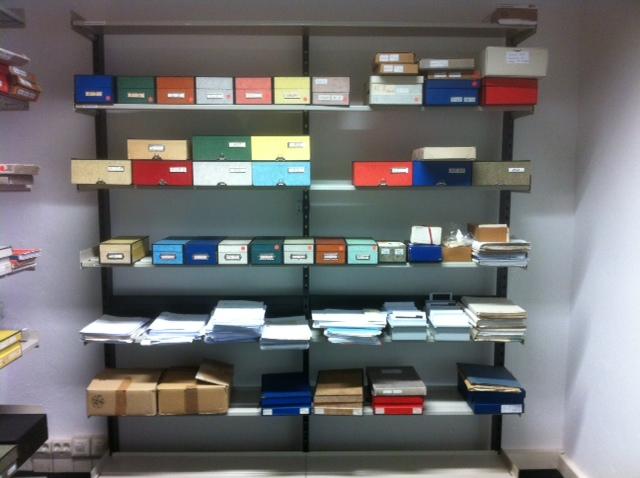 Archiv und Handbibliothek